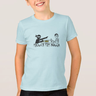 フライドポテトの忍者 Tシャツ