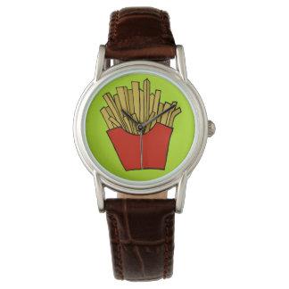 フライドポテトの腕時計 腕時計