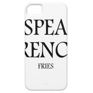 フライドポテトを話して下さい iPhone SE/5/5s ケース