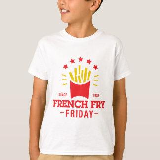 フライドポテト金曜日 Tシャツ