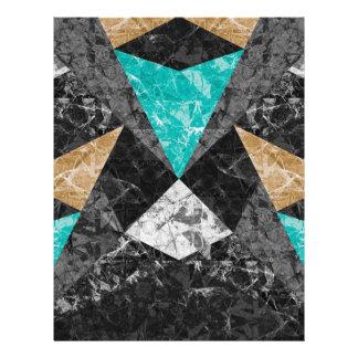 フライヤの大理石の幾何学的な背景G430 チラシ