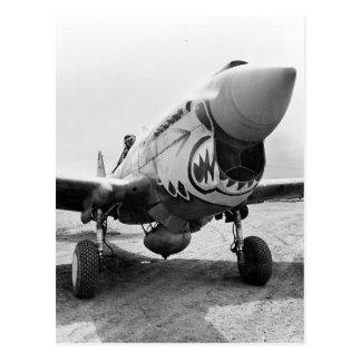 フライング・タイガースP-40 Warhawk 1941年 ポストカード