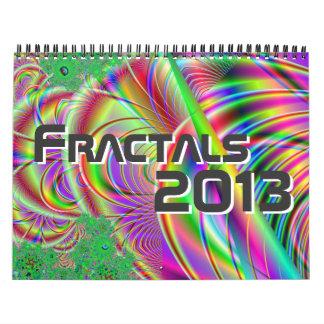 フラクタルのカレンダー2013. カレンダー