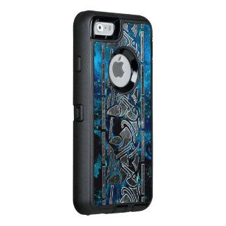 フラクタルのケルト人の種族の芸術 オッターボックスディフェンダーiPhoneケース