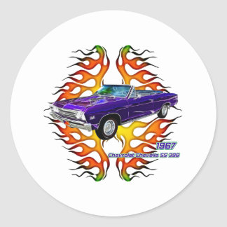 フラクタルのティー(TM)による1967年のChevy Chevelle ラウンドシール