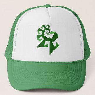 フラクタルのパワー緑 キャップ