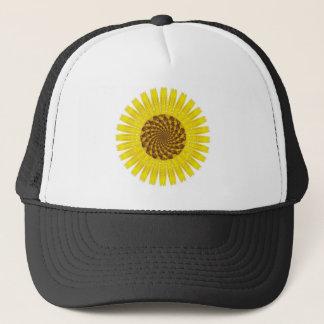 フラクタルのヒマワリの帽子 キャップ