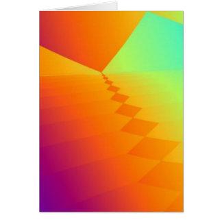 フラクタルのピラミッド カード
