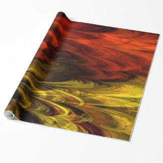 フラクタルの大理石4-19の包装紙 ラッピングペーパー