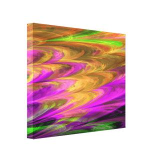 フラクタルの大理石4-7のキャンバスプリント キャンバスプリント