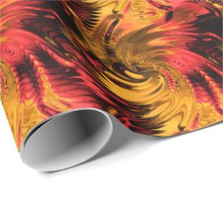 フラクタルの大理石5-1の包装紙の選択 ラッピングペーパー