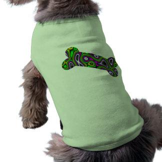 フラクタルの当惑の小犬の骨 ペット服