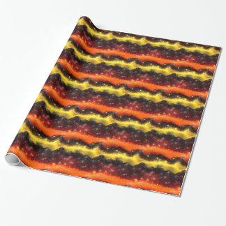 フラクタルの星雲2-1の包装紙 ラッピングペーパー