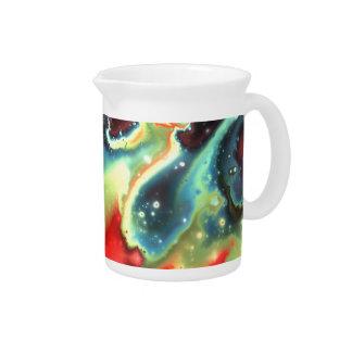 フラクタルの星雲7の水差し ピッチャー