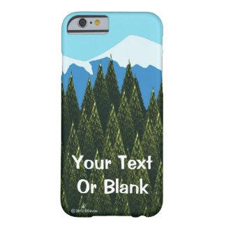 フラクタルの森林 BARELY THERE iPhone 6 ケース