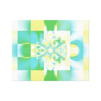 フラクタルの正方形 キャンバスプリント