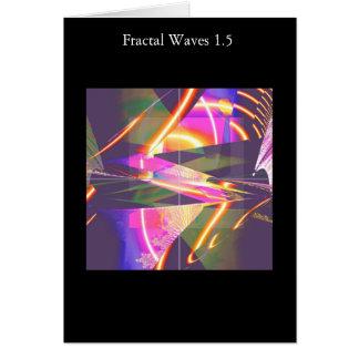 フラクタルの波1.5 カード