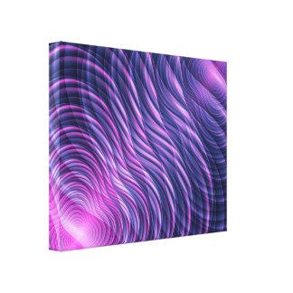 フラクタルの波 キャンバスプリント
