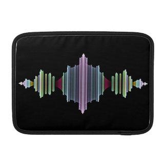 フラクタルの波 MacBook スリーブ
