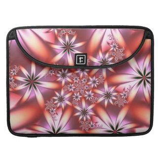 フラクタルの珊瑚の開花 MacBook PROスリーブ