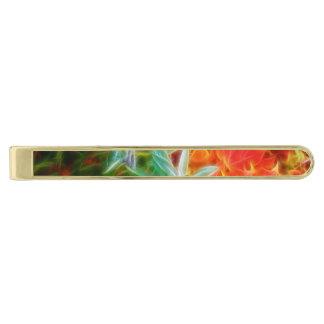 フラクタルの紅葉の虹 ゴールド タイバー