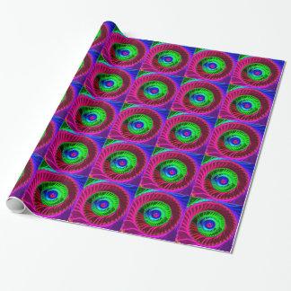 フラクタルの色彩4包装紙 ラッピングペーパー