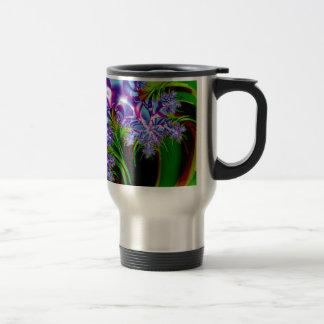 フラクタルの花 トラベルマグ
