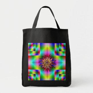 フラクタルの花 トートバッグ