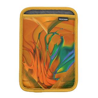 フラクタルの芸術のサフランのiPad Miniの垂直袖 iPad Miniスリーブ