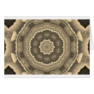 フラクタルの芸術のデザイン カード
