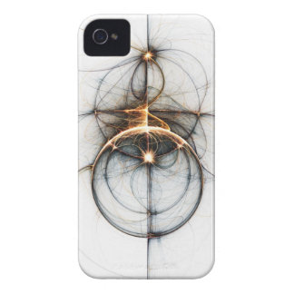 フラクタルの芸術のiPhoneの場合: 流星 Case-Mate iPhone 4 ケース