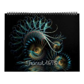 フラクタルの芸術2011のカレンダー カレンダー