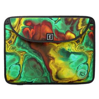 フラクタルの芸術2-2 Macの本の袖 MacBook Proスリーブ