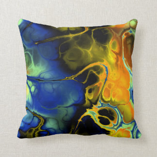 フラクタルの芸術3-3の枕 クッション