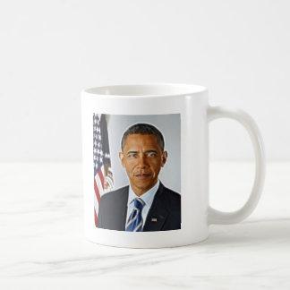 フラクタルの芸術、公式のポートレートバラック・オバマ コーヒーマグカップ