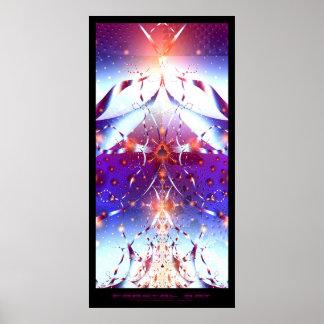 フラクタルの芸術-数学の力 ポスター