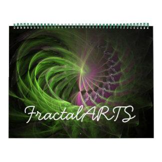 フラクタルの芸術V2 2012のカレンダー カレンダー