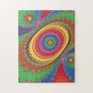 フラクタルの虹 ジグソーパズル