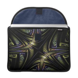フラクタルの金ケルト人のMacBookのプロ袖 MacBook Proスリーブ