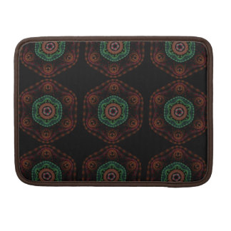 フラクタルパターンMacbookの袖 MacBook Proスリーブ