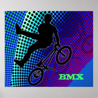 フラクタル映画玄関ひさしのBMX ポスター