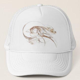フラクタル猿の帽子 キャップ