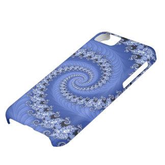 フラクタル青い二重螺線形のCase mate iPhone5Cケース