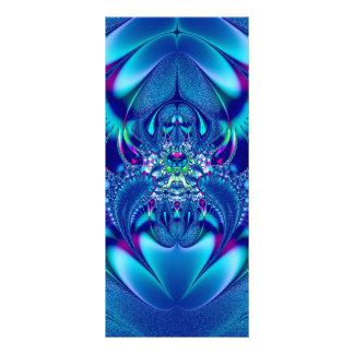 フラクタル#1: 青い優雅 ラックカード