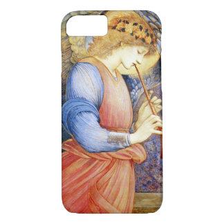 フラジオレットのiPhone 7の場合を遊ぶBurneジョーンズの天使 iPhone 8/7ケース