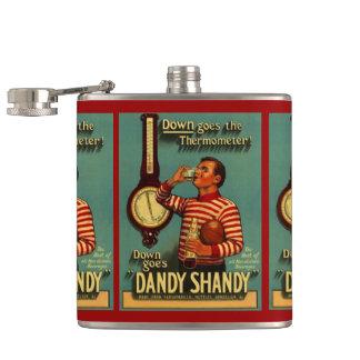 フラスコのおもしろいのヴィンテージのおしゃれなShandyは飲料を分類します フラスク