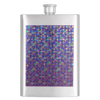 フラスコの水玉模様のSparkleyのクラシックな宝石 フラスク