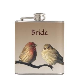 フラスコを結婚しているフィンチの花嫁 フラスク
