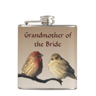 フラスコを結婚している花嫁のフィンチの祖母 フラスク