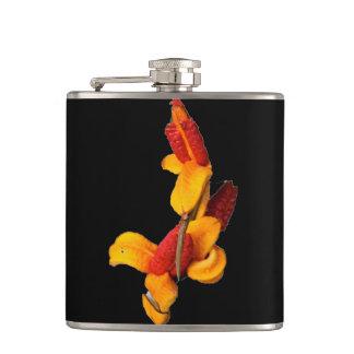 フラスコ-花柄 フラスク